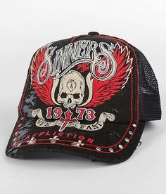 Affliction Sinners Hat Black. From #Affliction
