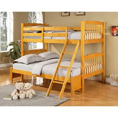 Twin over full, pine.  $249