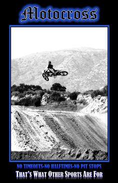 Motocross Poster  Dirt Bike