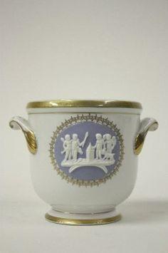 Imperial Porcelain Factory planter.  Era of Tsar Alexander III.