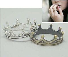 Antique Charming Crown Ring #Fashion #ring