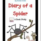 This file is a 25 page download of my book study for Diary of a Spider by Doreen Cronin.  This file is filled with a week's worth of ELA activities...$3
