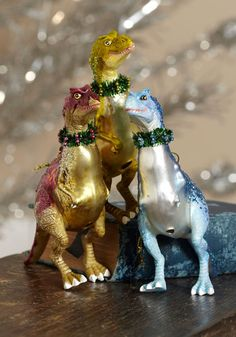 The Rex Is Yet to Come Ornament, #ModCloth