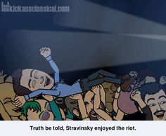 If classical music composers used Bitstrips - Stravinsky