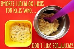 {More} Lunch Box Ideas for Kids Who Don't Like Sandwiches | Childhood101 (Brenna's lunches)