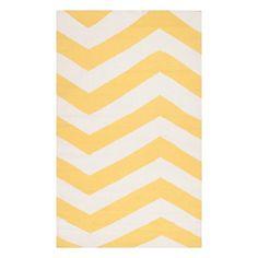 Sunshine Yellow rug