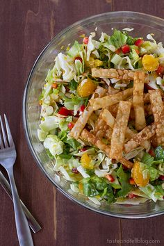 Chinese Chopped Salad via @Deborah Harroun {Taste and Tell}