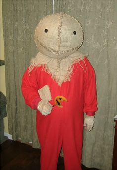 """My Sam Hein costume build - from the movie """"Trick r Treat."""" Hubby loved it!"""