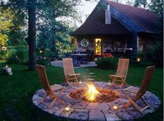 Nice! new houses, pool, outdoor fireplaces, backyard, firepit, garden, fire pit