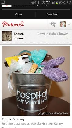 Baby shower idea.....so need one of these