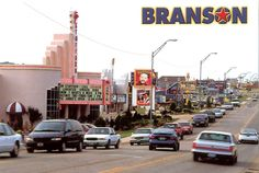 Branson, Missouri--my first vacation I ever took with my family when I was six.