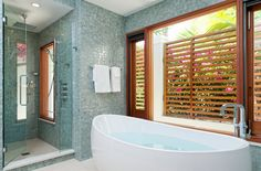 Want that bathtub!  House of Turquoise: Lisa Kanning Interior Design