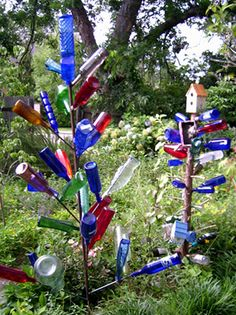 Adorable website showing History of Bottle Trees