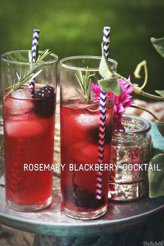 Rosemary Blackberry CocktailRecipe