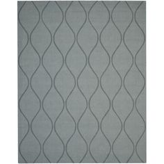 Handmade Timeless Grey New Zealand Wool Rug (7'6 x 9'6) | Overstock.com
