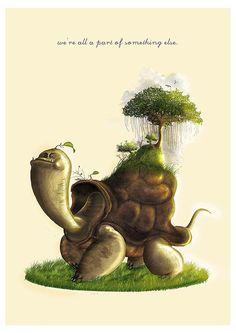 """The Giant Tortoise"" by Bayu Sadewo"