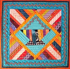 Baltimore Quilt Show (EXPO 2013).  Basket quilt, Baltimore Heritage Quilters Guild