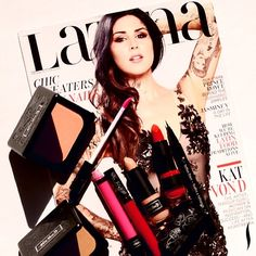 That's our girl. Check out The Kat Von D on the cover of Latina Magazine!