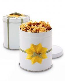 Carmel Almond Popcorn Christmas Gift