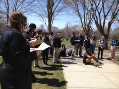 The Center for Nonviolence and Peace Studies at the University of Rhode Island participated in the reading of King's Letter. https://www.facebook.com/media/set/?set=a.570877892946898.1073741829.250166105018080=3