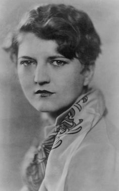 Zelda Fitzgerald (1900-1948).  Zelda marched to her own tune. She was quite talented in her own right. She was a writer, ballet dancer, artist, and more. She spent her life in Scott's shadow, & died a tragic death in a sanitarium fire awaiting electric shock treatment for her undiagnosed Bi-polar disorder. Her diagnosis was Schizophrenia in the 1920's and beyond. A very interesting story.