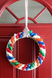 6 Unique Wreath Ideas from @AllFreeChristmasCrafts