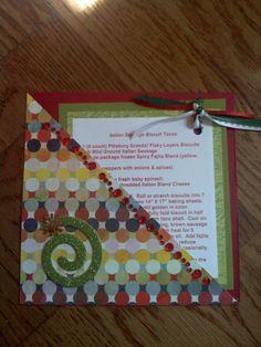 6 X 6 Recipe Card - Scrapbook.com
