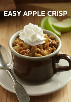 Nothing says fall quite like cooking with apples. This Easy Apple Crisp dessert recipe makes it simple!