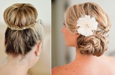 Chic and Unique Wedding Updos | OneWed