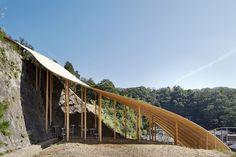 ryue nishizawa + nendo collaborate on small pavilion in kyoto