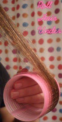 curling hair with rollers, hair spritz, dry hair, curls, dri hair