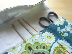 Today We Made — Crochet Hook Roll – Tutorial