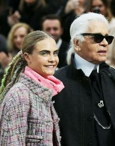 Karl Lagerfeld opens up about Cara