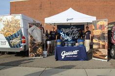 Setting up to share #HandcraftedHappiness at the Woodward Dream Cruise in Detroit.