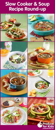Slow Cooker & Soup Recipe Round-up | Produce For Kids