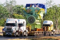(How to Move Big Engines)