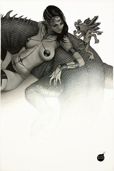 Dejah Thoris by Aype Beven, in CarlosSimoes's Dejah Thoris Collection Comic Art Gallery Room - 1021431