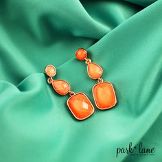 Need a pop of color for your outfit? #parklanejewelry #fashion #spring