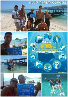 Blue Marlin Komodo follows the #10Tips4Divers