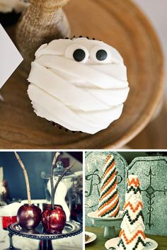From sweets like cupcakes, candy and cookies to savory appetizers and dips, give your favorite fiends a real treat with these 40 easy Halloween snack recipes that are sure to hit the spot.