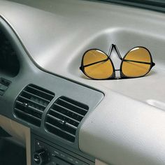 Aviator Night Driving Glasses - Zoom