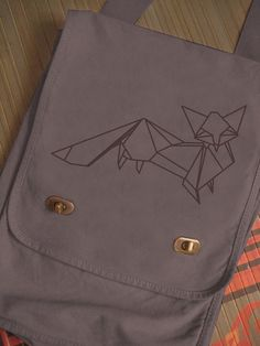 oragami fox bag