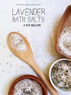 DIY Lavender Bath Salts | Herbal Academy of New England