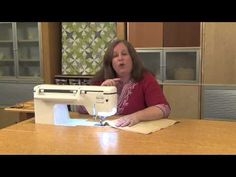 Machine Minute: Specialty Stitches - Wing Needle - YouTube
