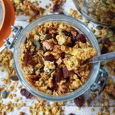 An affordable and simple, nourishing granola recipe (GF, VG, Refined Sugar-Free)