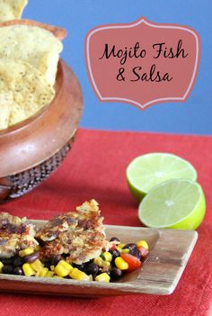 Mojita Fish and Salsa Recipe #Canbassador