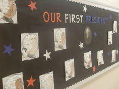 Bulletin Board for Presidents' Day