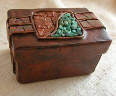 Polymer clay Treasury Box