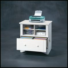 Filing Cabinet with storage for printer and paper $169.99