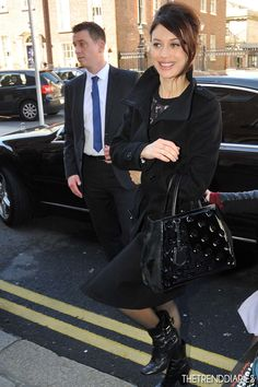 Olga Kurylenko at the Merrion Hotel in Dublin, Ireland - April 3, 2013